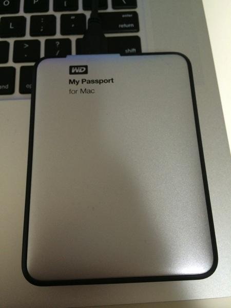 My passport 1