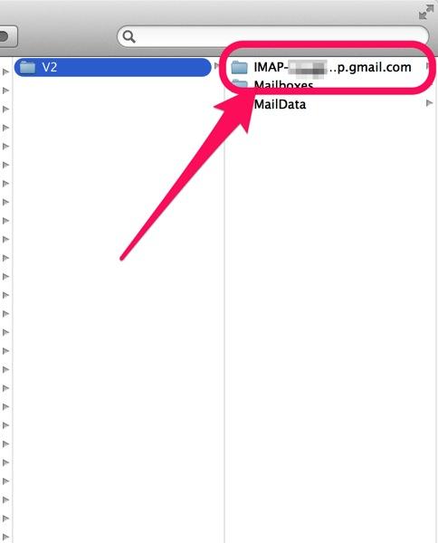 Mail app v2 gmail dir