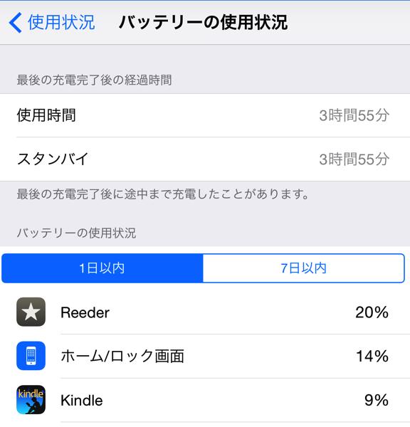 Ios 8 battery check mode